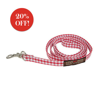 Gift Guide 2008, Gifts for Pets, Love My Dog Dog Lead