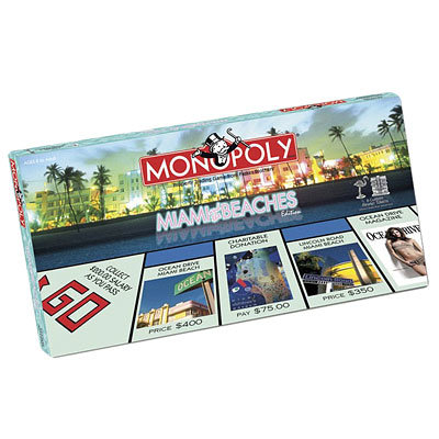 Holiday Gift Guide, Gifts That Give Back, Monopoloy Miami and the Beaches Edition