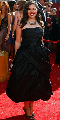 America Ferrera, 2008 Emmy Awards, Fashion