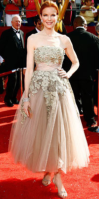Marcia Cross, Elie Saab, Hearts on Fire, Desperate Housewives, Emmys