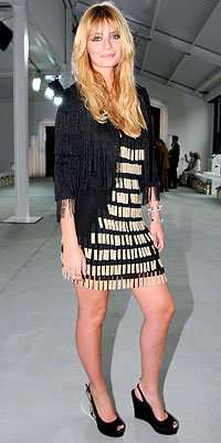 Mischa Barton, London Fashion Week