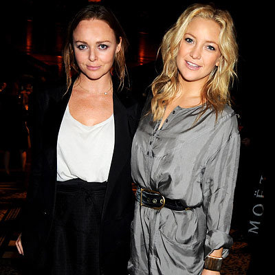 Stella McCartney, Kate Hudson, London Fashion Week