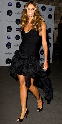 Elle Macpherson, London Fashion Week