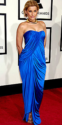 Nelly Furtado, Arthur Mendonca, Grammys, Grammys trends, blue dress, celebrity style, celebrity fashion