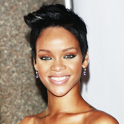 Rihanna - Rolled front short cut