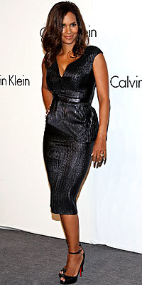 Halle Berry in Calvin Klein at the designer's 40th anniversary party