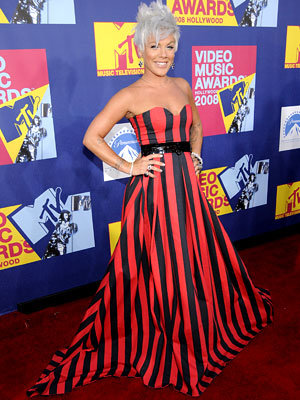 Pink, 2008 MTV Video Music Awards, VMAs, Los Angeles