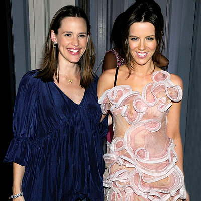 Jennifer Garner in Stella McCartney, Kate Beckinsale in Prada, 4th annual Pink Party, Santa Monica