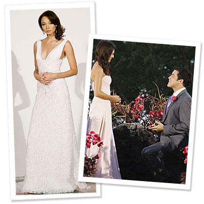 What's Right Now - Is This The Bachelorette's Wedding Gown?