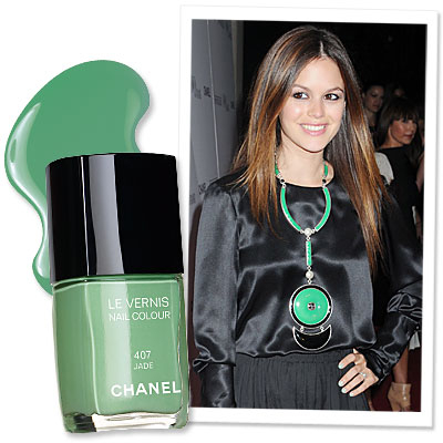 The Hottest New Nail Color in Hollywood: Jade by Chanel