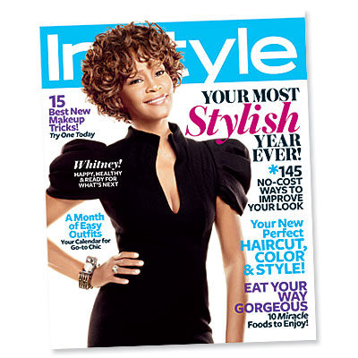 Whitney Houston Is Our January Cover Girl