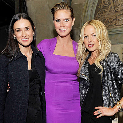 Last Night's Chicest Party: RM Roland Mouret's Rainbow Collection Launch