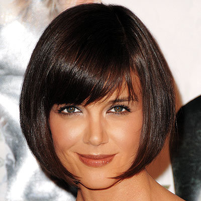 Katie Holmes - Short Hairstyles - Get Hollywood Hair