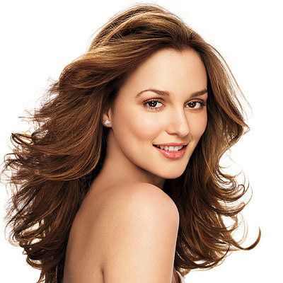 Leighton Meester: Spring 2009 Hair Issue