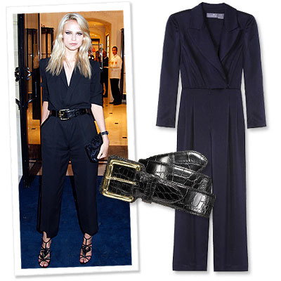 Model Approved Trend: The Blazer Jumpsuit