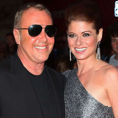 Michael Kors and Debra Messing - Very Hollywood - NY Fashion Week - Spring 2010
