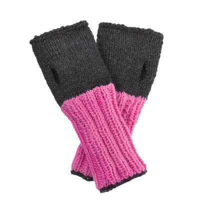 Free Fingers Cashmere Fingerless Gloves