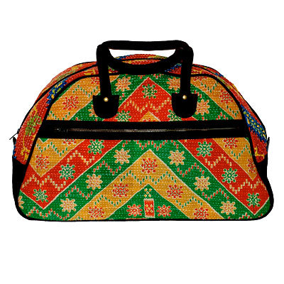 Rising Tide Fair Trade Weekender bag