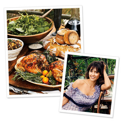 Jessica Alba's Cornish Game Hens