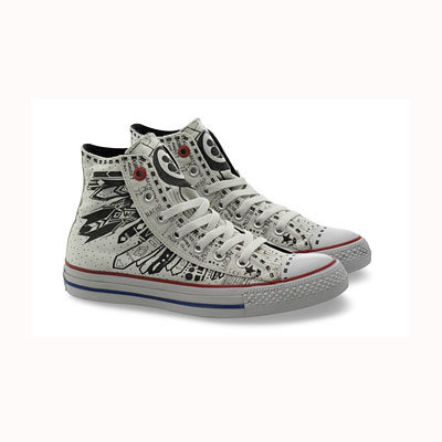 Vena Cava for Converse 1HUND(RED) Artists Shoe