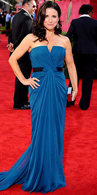 Julia Louis Dreyfus - Vera Wang - Emmy Awards