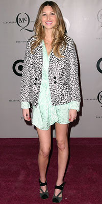 Whitney Port, Launch of McQ Alexander McQueen for Target, Fashion Week Day 1