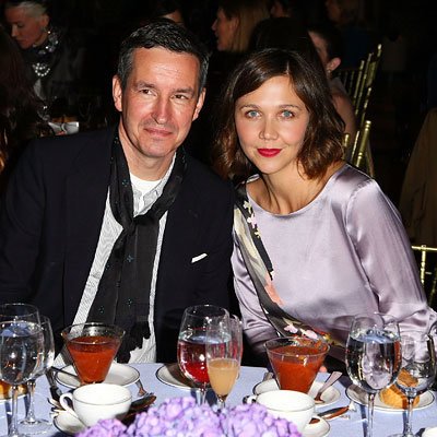Dries van Noten and Maggie Gyllenhaal