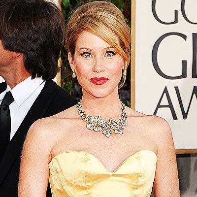 2009 Golden Globes, Jewelry Trends, Statement Necklaces, Christina Applegate