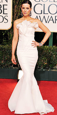 Kate Beckinsale, J. Mendel, Golden Globes 2009