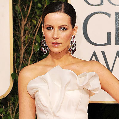 2009 Golden Globes, Hair Trends, Slicked back, Kate Bekinsale