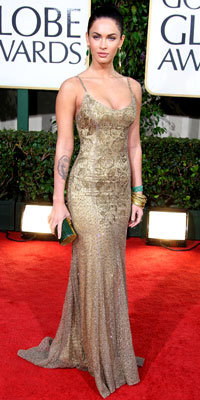 Megan Fox, Ralph Lauren, Golden Globes 2009