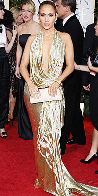 Jennifer Lopez, Marchesa, Golden Globes 2009