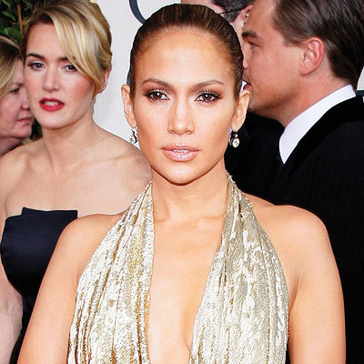 2009 Golden Globes, Hair Trends, Slicked back, Jennifer Lopez