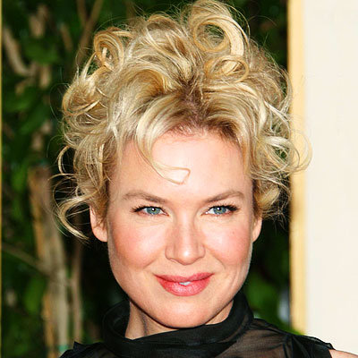 Renee Zellweger - Piled curls
