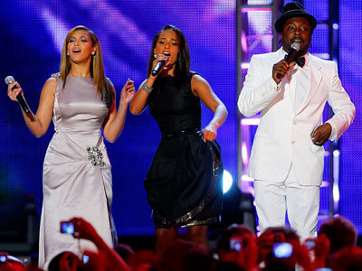 Best Parties of 2009 - Beyonce, Alicia Keys and will.i.am - The Neighborhood Inaugural Ball