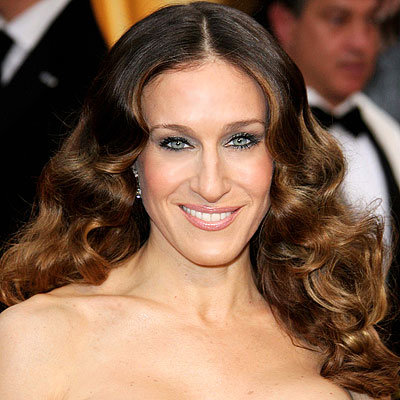 Sarah Jessica Parker's Structured Curls