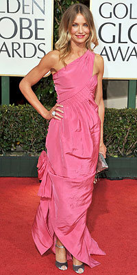Cameron Diaz, Chanel, Golden Globes 2009