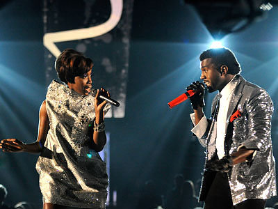 Estelle and Kanye West, Grammys 2009