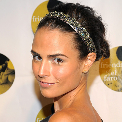 Jordana Brewster-Hair Tip-Headband