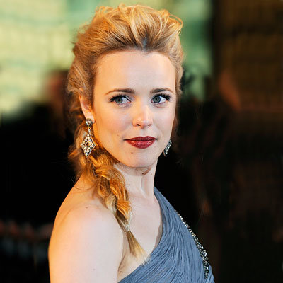 Rachel McAdams's Long Braid