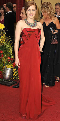 Amy Adams, Carolina Herrera, Oscars 2009