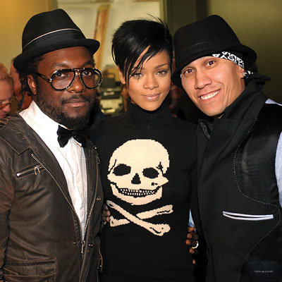 will.i.am, Rihanna and Taboo, 5th annual Peapod Foundation benefit, Los Angeles, Grammys, 2009 Grammy Awards