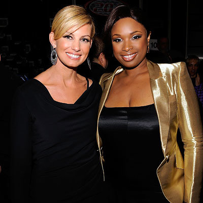Faith Hill, Jennifer Hudson, 2009 MusiCares Person of the Year Tribute to Neil Diamond, Los Angeles, 2009 Grammy Awards, Grammy