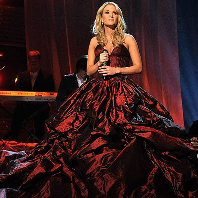 Carrie Underwood in Rafael Cennamo, 44th annual Academy of Country Music Awards, Las Vegas, 2009