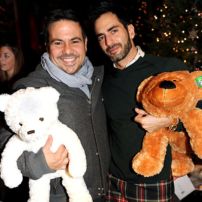 marc jacobs - narciso rodriguez - davidbartongym - toy drive