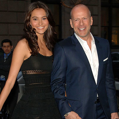 Emma Heming and actor Bruce Willis