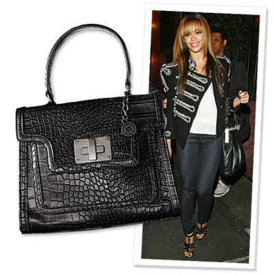 Beyonce - Vera Wang - Bag - Shopping - Affordable Chic - News