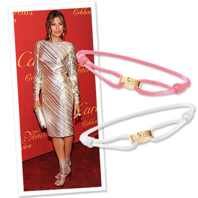 Eva Mendes - Cartier - Love Bracelet - Designer News - Shopping