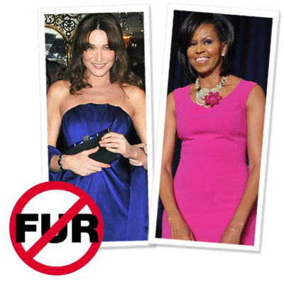 It's Official—Michelle Obama Is Fur Free