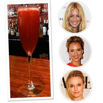 Sienna Miller - Jessica Alba - Kate Bosworth - Cocktails - Drinks - Rose Bar - Summer Trends